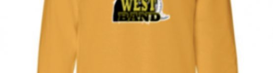 SM West Band Sweatshirt in Yellow