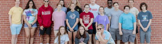 Photo of the 2019-20 Drum Majors and Section Leaders