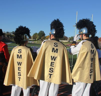 SM West Drum Majors at Kansas Bandmasters Association