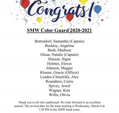 2020-21 Color Guard