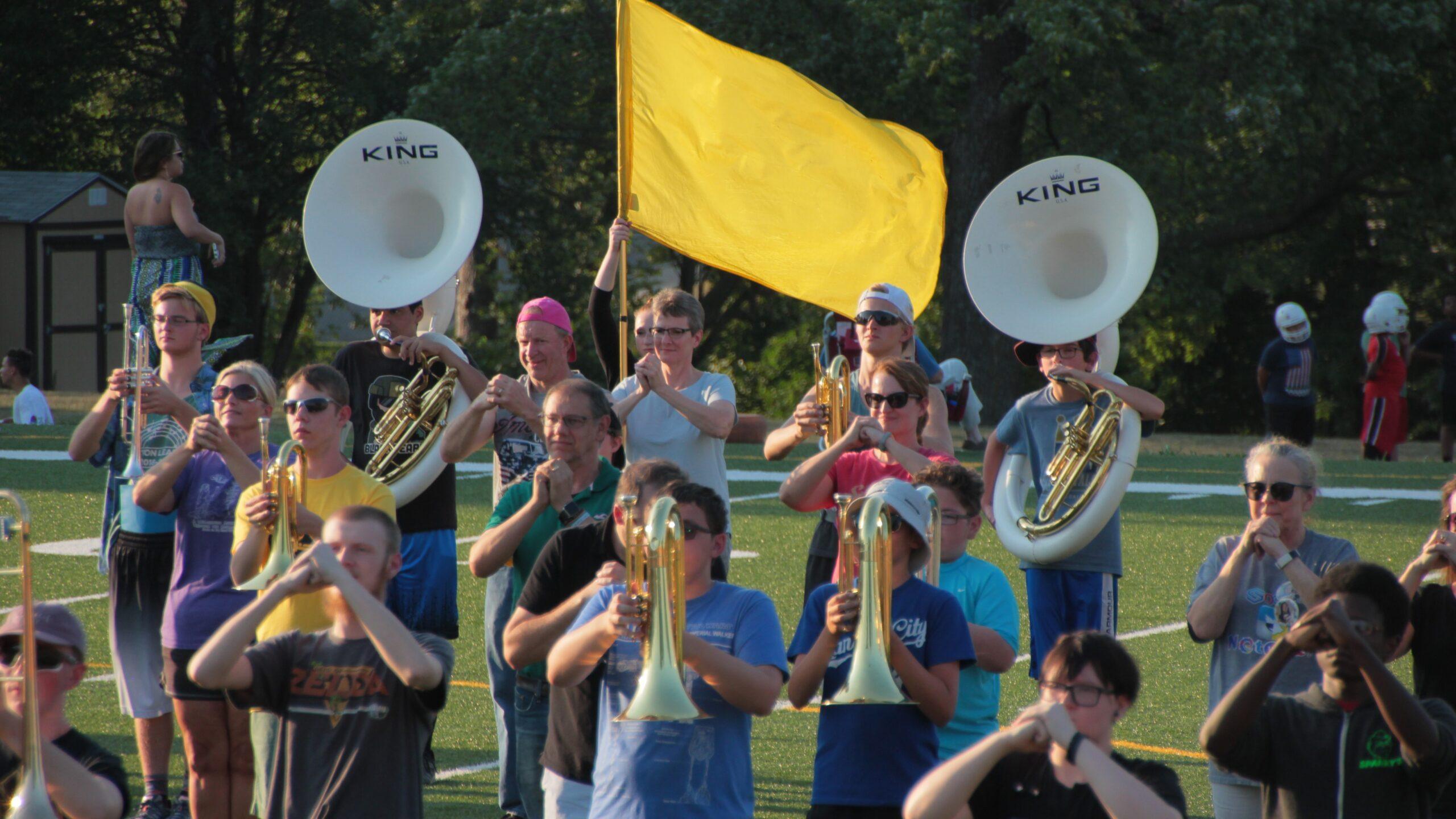 Shawnee Mission West Band Camp